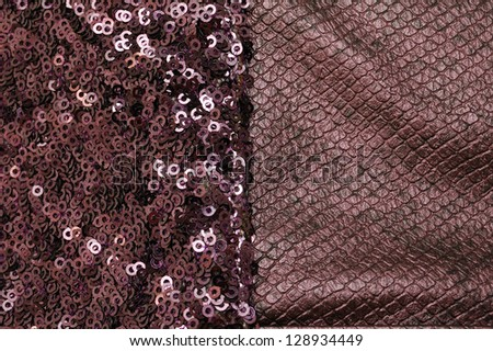 sequins texture background - stock photo