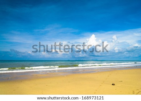 Serene Waters Shore Landscape