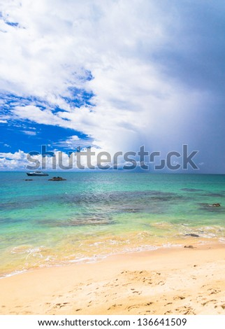 Serene Waters White Sand