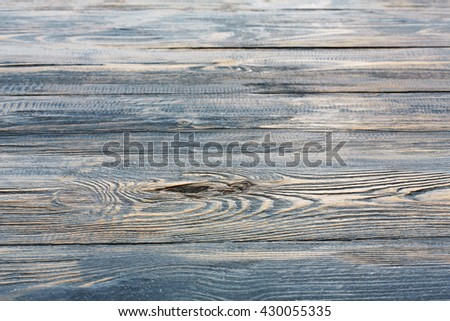 Serenity wood texture and background. Serenity blue wood texture background. Rustic, old wooden background. Aged wood planks texture pattern. Wooden surface. Vertical image. - stock photo