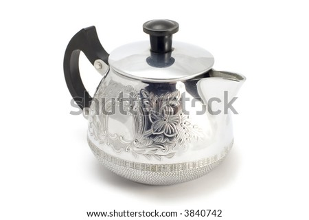 series object on white -small tea port
