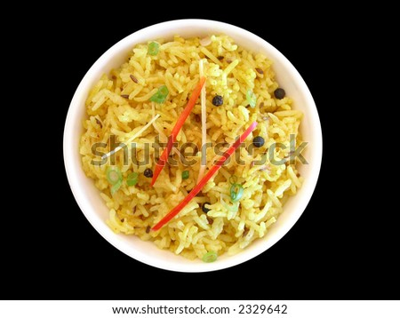 Series of indian dishes - stock photo