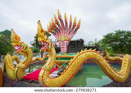 serpent of thailand - stock photo
