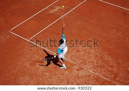 Serve - stock photo
