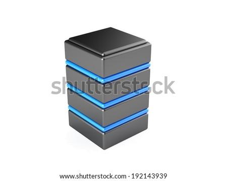 Server - stock photo