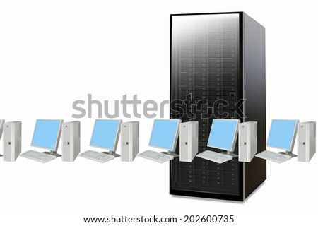 Server And Personal Computer