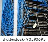 Server panel - stock photo