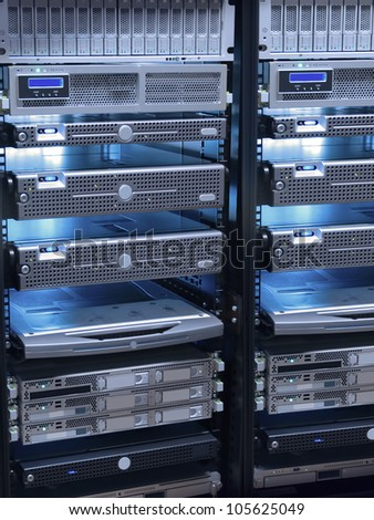 server technology - stock photo