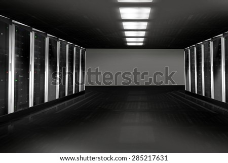 Server Tower - stock photo