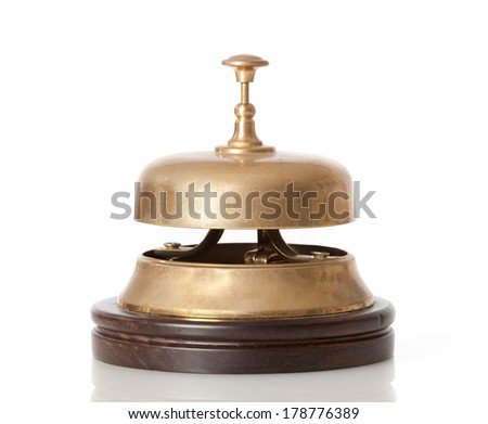 service bell - stock photo