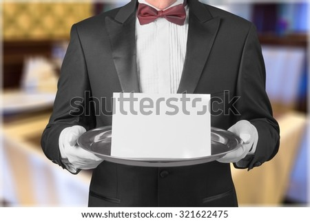Service Elegance. - stock photo