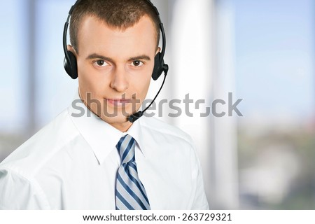 Service, IT Support, Customer Service Representative. - stock photo