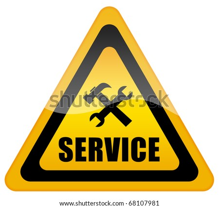 Service support sign