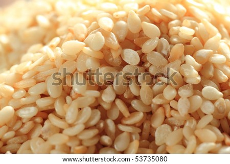 Sesame - stock photo