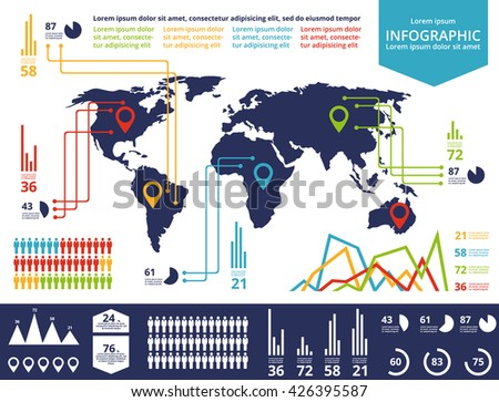 Set elements infographics world map information stock illustration set elements infographics world map information stock illustration 426395587 shutterstock gumiabroncs Image collections