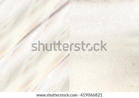 Set of abstract backgrounds beige