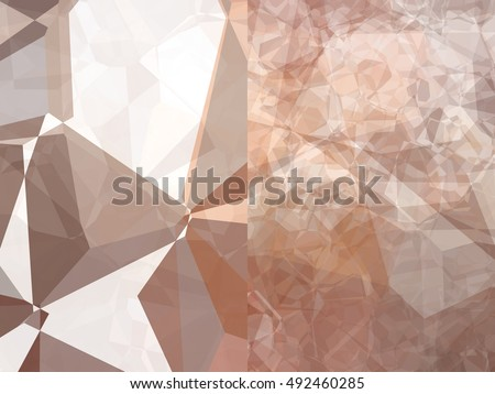 Set of abstract backgrounds beige illustration digital.
