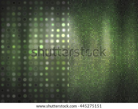 Set of abstract backgrounds green