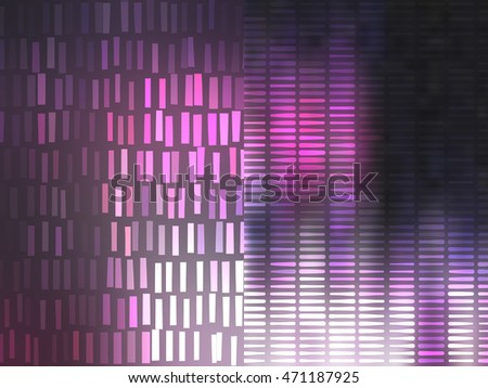 Set of abstract backgrounds pink illustration digital.