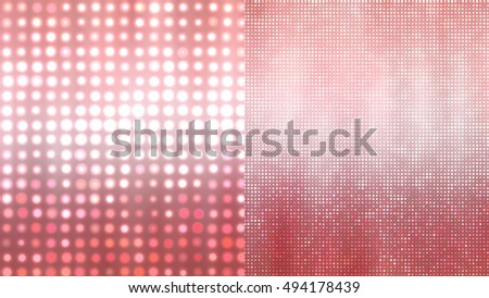 Set of abstract backgrounds red. Two background. illustration digital.