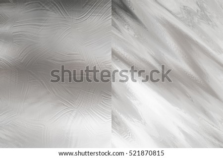 Set of abstract backgrounds silver. Two background. illustration digital.