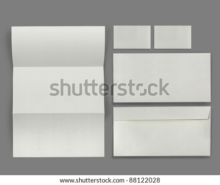 set of corporate identity templates. each one shot separately, for another blank templates visit my gallery - stock photo