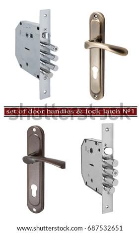 Door Latch Lock latch stock images, royalty-free images & vectors | shutterstock