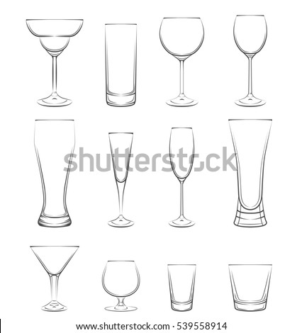 types of bar glasses and their names cinemas 93. Black Bedroom Furniture Sets. Home Design Ideas