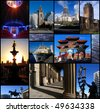 set of fantastic photos in Liverpool, UK - stock photo