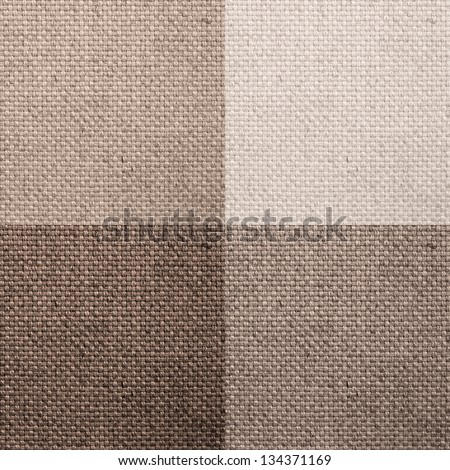 set of four sack-textures. - stock photo