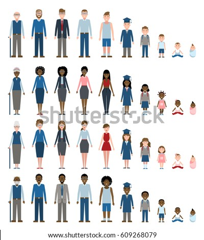 Growing Up Stages Stock Images, Royalty-Free Images & Vectors ...