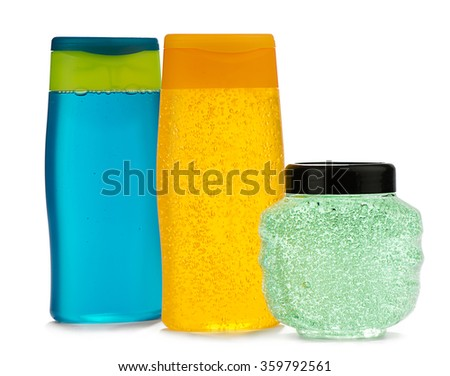 Set of Hair Care Products - stock photo