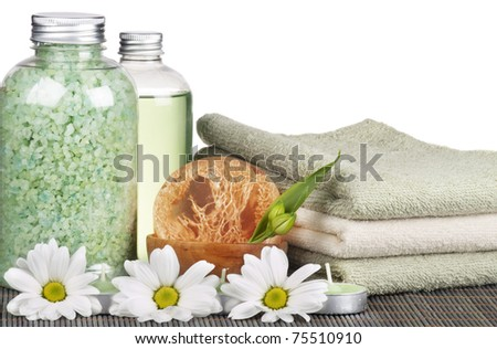 Set of Hygienic Cleansing Supplies