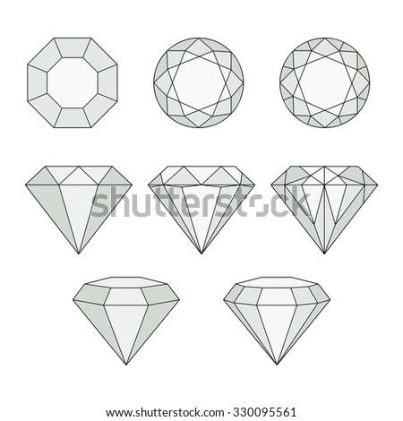 black white diamonds geometric background linear stock