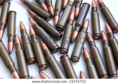 set of metal game bullets