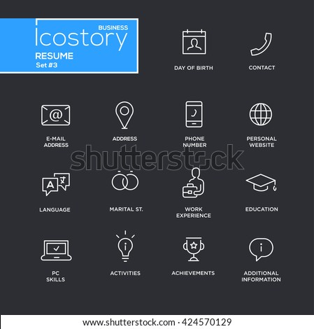 resume icon stock images royalty free images vectors shutterstock