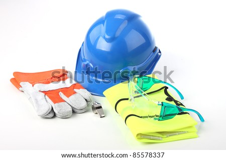 Set of personal protective equipment. - stock photo