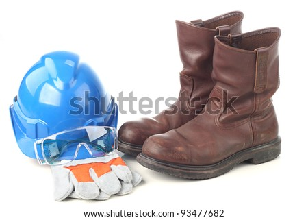 Set of personal protective equipment - stock photo
