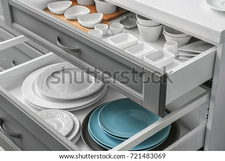 Kitchen Drawer Stock Images, Royalty-Free Images & Vectors ...