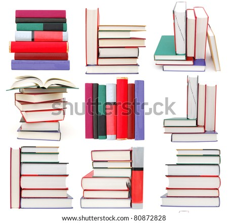 set of textbooks arrangements