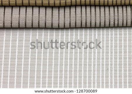 set of textures fabrics - stock photo