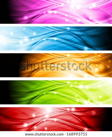 Set of wave abstract headers