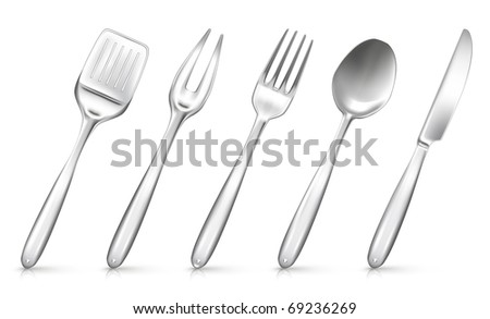 Set with kitchen utensil, Bitmap copy