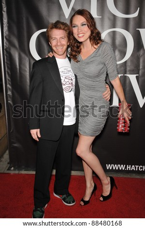 Seth Green & Clare Grant at the premiere of Hatchet II at the Egyptian Theatre, Hollywood. September 28, 2010  Los Angeles, CA Picture: Paul Smith / Featureflash