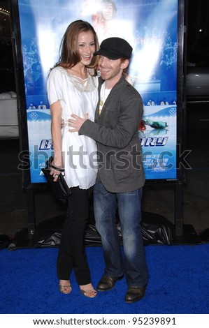 "Seth Green & date at the Los Angeles premiere of ""Blades of Glory"" at the Grauman's Chinese Theatre, Hollywood. March 29, 2007  Los Angeles, CA Picture: Paul Smith / Featureflash - stock photo"