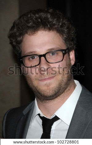 "Seth Rogen at the 18th Annual ""A Night at Sardi's"" benefitting the Alzheimer's Association, Beverly Hilton, Beverly Hills, CA. 03-18-10"