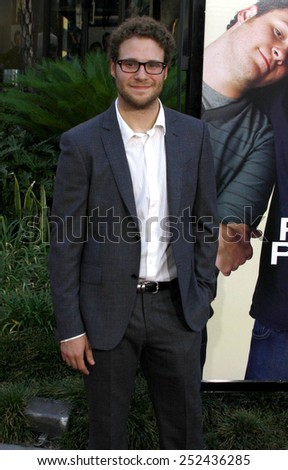 "Seth Rogen at the World Premiere of ""Funny People"" held at the ArcLight Cinemas in Hollywood, California, United States on July 20, 2009."