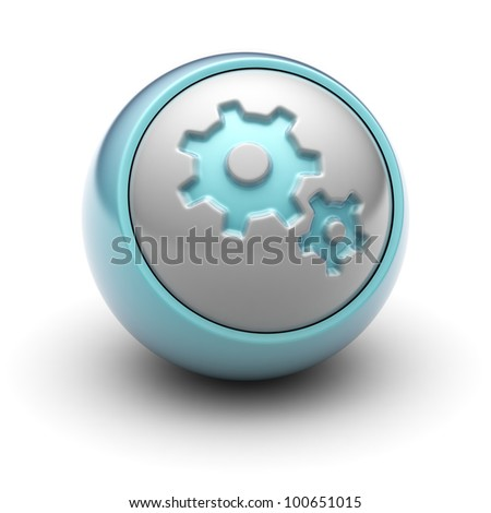 setting Full collection of icons like that is in my portfolio - stock photo
