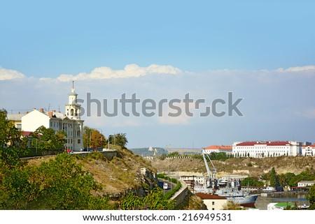 SEVASTOPOL. The South bay. - stock photo