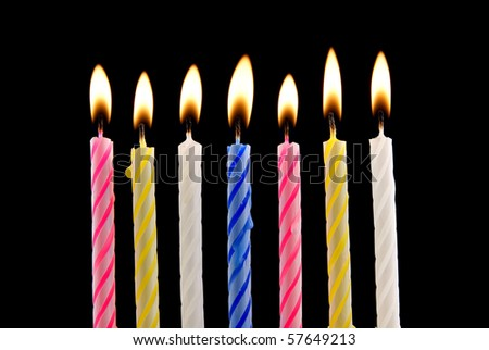 Happy birthday lit candles on colorful balloons royalty free stock - Birthday Candles Lit Stock Images Royalty Free Images